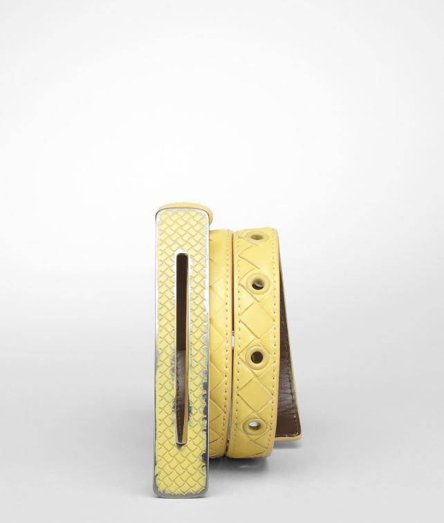 BOTTEGA VENETA Vitello Laque Belt Belt D fp