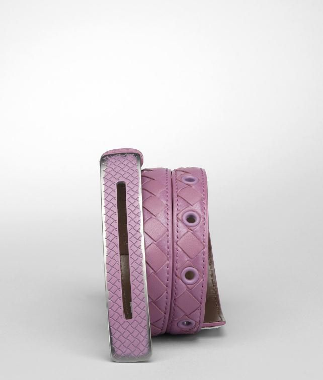 BOTTEGA VENETA Vitello Laque Belt Belt D fp