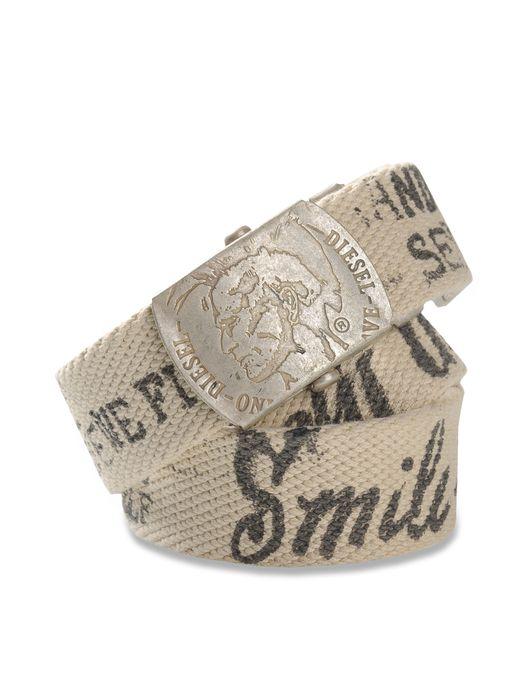 DIESEL BICOLE Belts U f