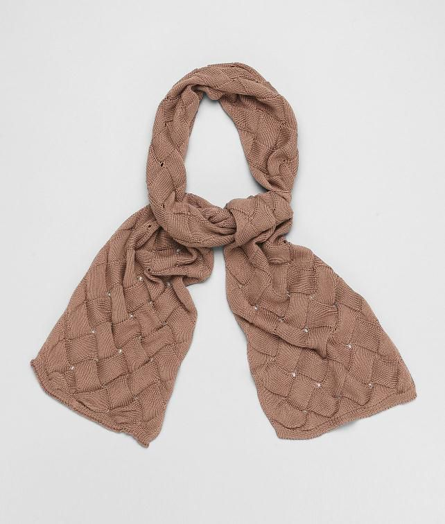 BOTTEGA VENETA Silk Cotton Scarf Scarf U fp