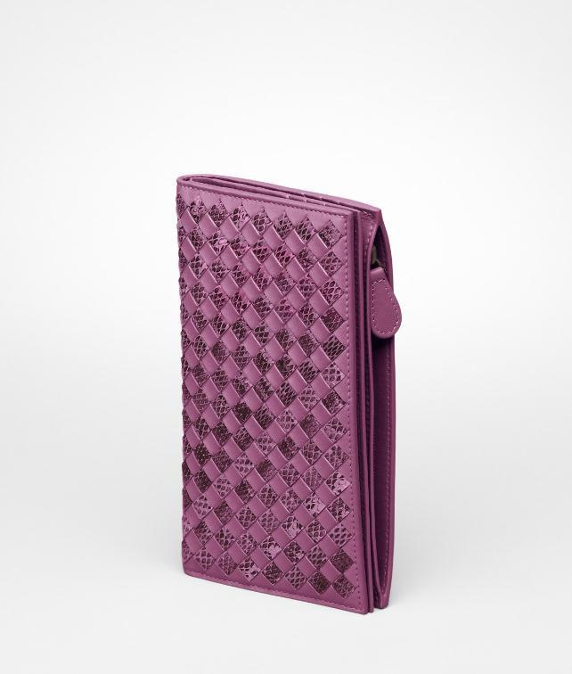 BOTTEGA VENETA Intrecciato Nappa Ayers Continental Wallet Wallet D fp