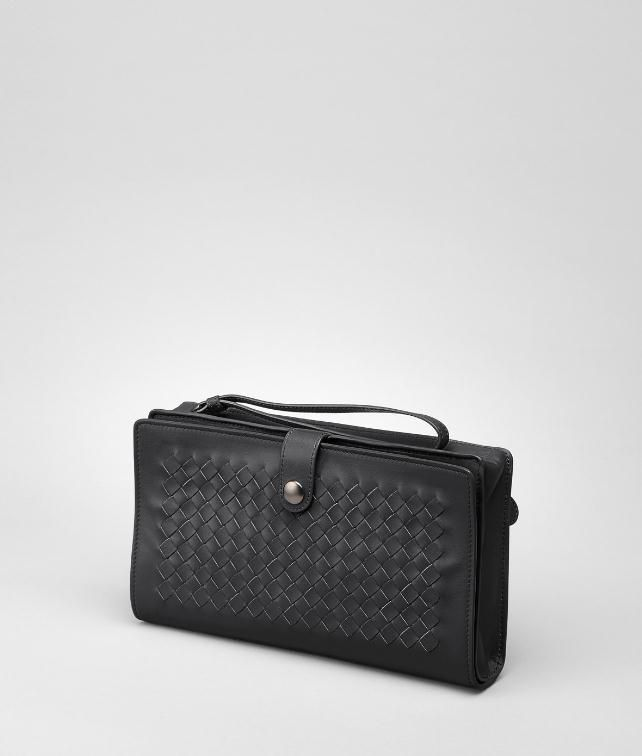 BOTTEGA VENETA Intrecciato VN Continental Wallet Travel Accessory E fp