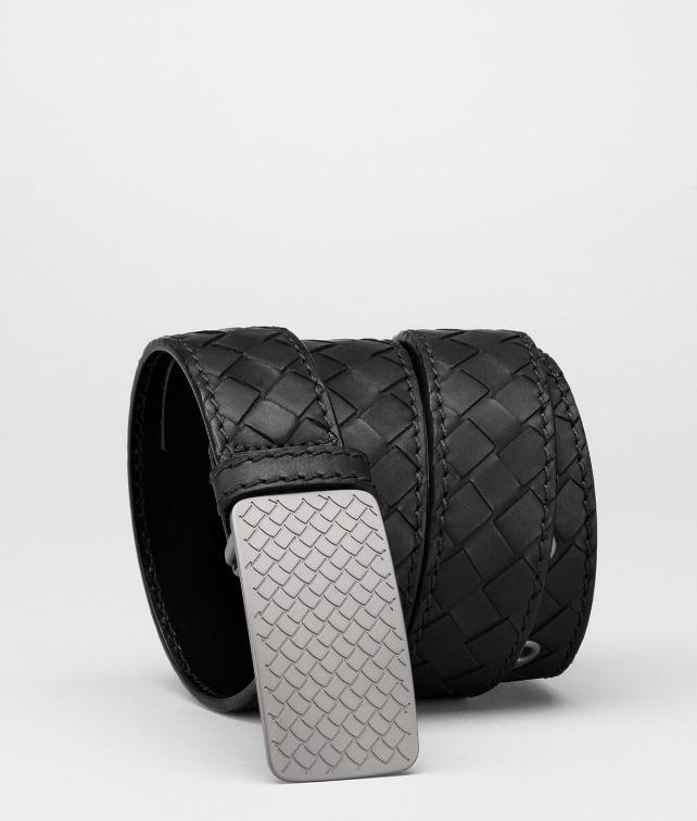 BOTTEGA VENETA Intrecciato Waxed Leather Belt Belt U fp