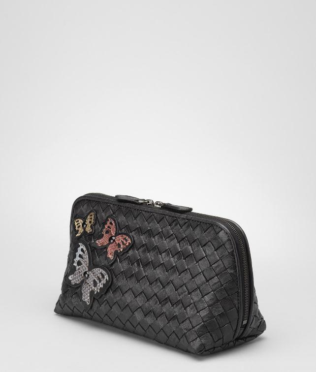 BOTTEGA VENETA Intrecciato Ayers Butterfly Cosmetic Case Cosmetic Case D fp