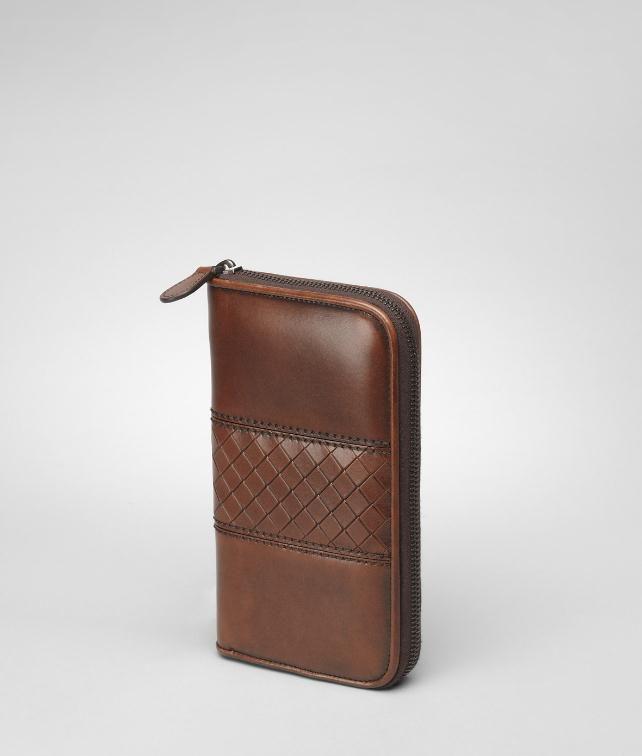 BOTTEGA VENETA Intreccio Scolpito Zip Around Wallet Wallet U fp