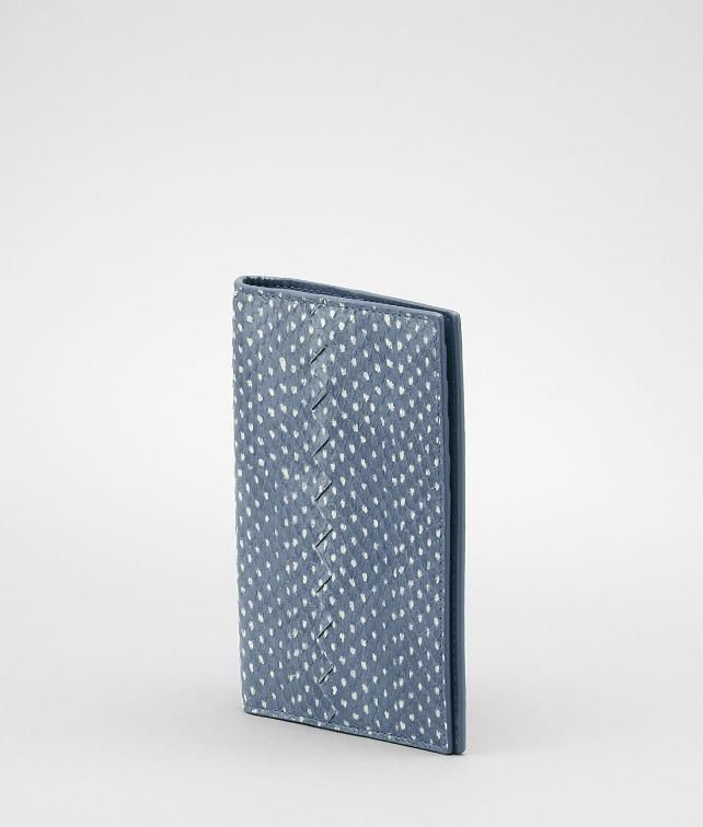 BOTTEGA VENETA Snakeskin Passport Case Travel Accessory E fp