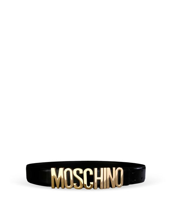 Leather Belt Woman MOSCHINO