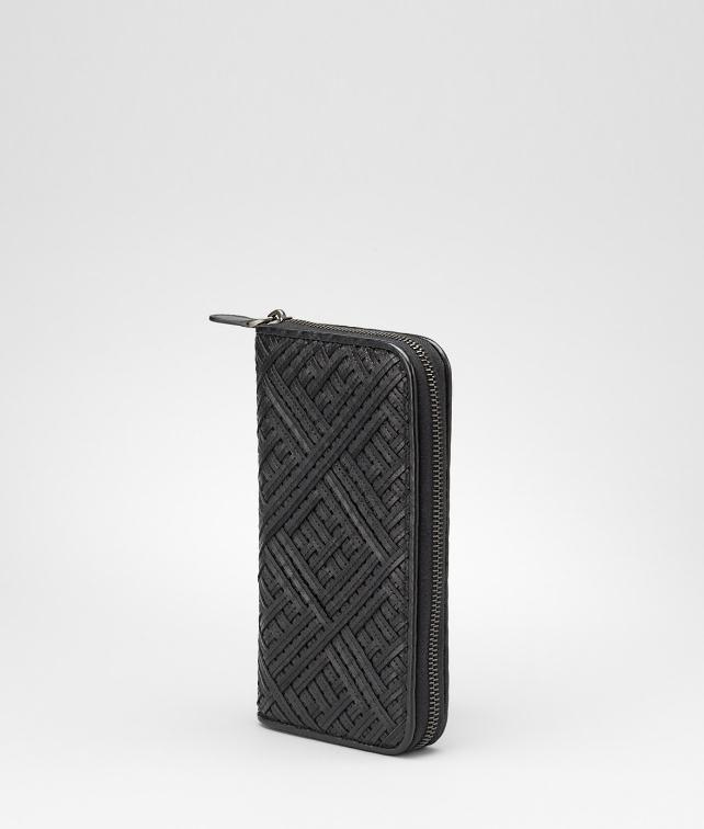 BOTTEGA VENETA Intreccio Nappa Zip Around Wallet Wallet D fp