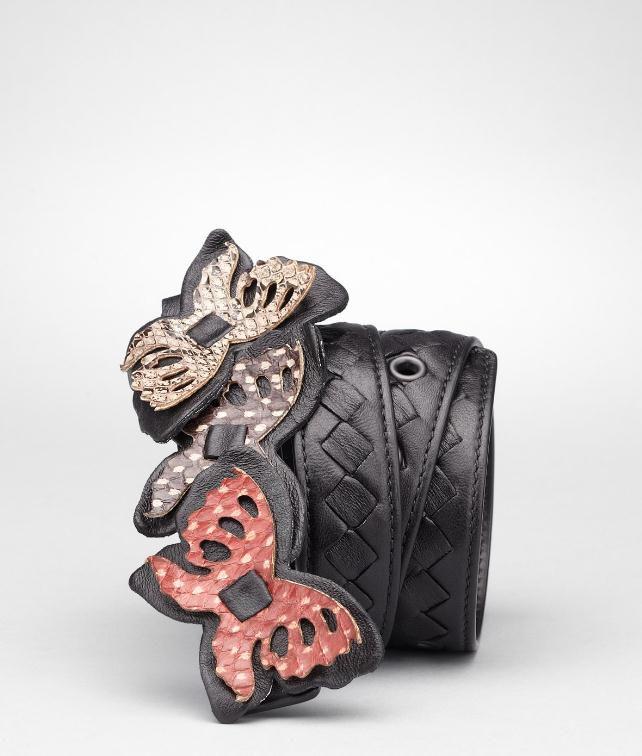 BOTTEGA VENETA Intrecciato Ayers Butterfly Belt Belt D fp