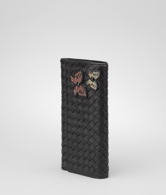 BOTTEGA VENETA Intrecciato Ayers Butterfly Continental Wallet Wallet D fp