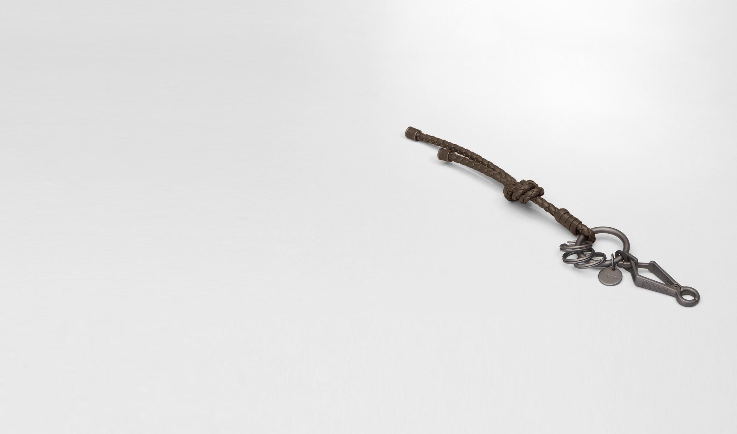 BOTTEGA VENETA Keyring or Bracelets E Edoardo Intrecciato Nappa Key Ring pl