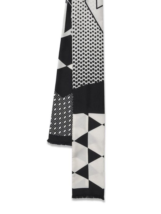 DIESEL BLACK GOLD CRASTAMP Scarf & Tie U f