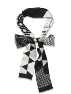 DIESEL BLACK GOLD CRASTAMP Scarf & Tie U e