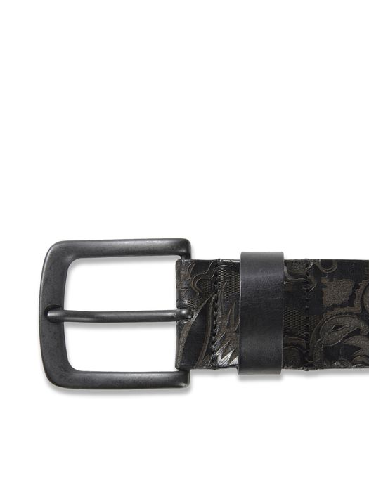 DIESEL BLACK GOLD BESNAK Belts D e