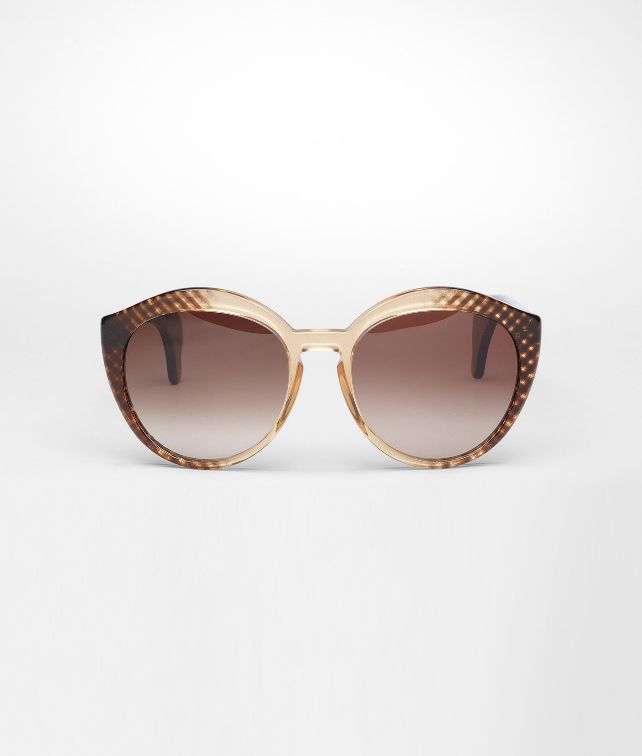 BOTTEGA VENETA Black Brown Shaded Acetate BV 195/S Sunglasses D fp