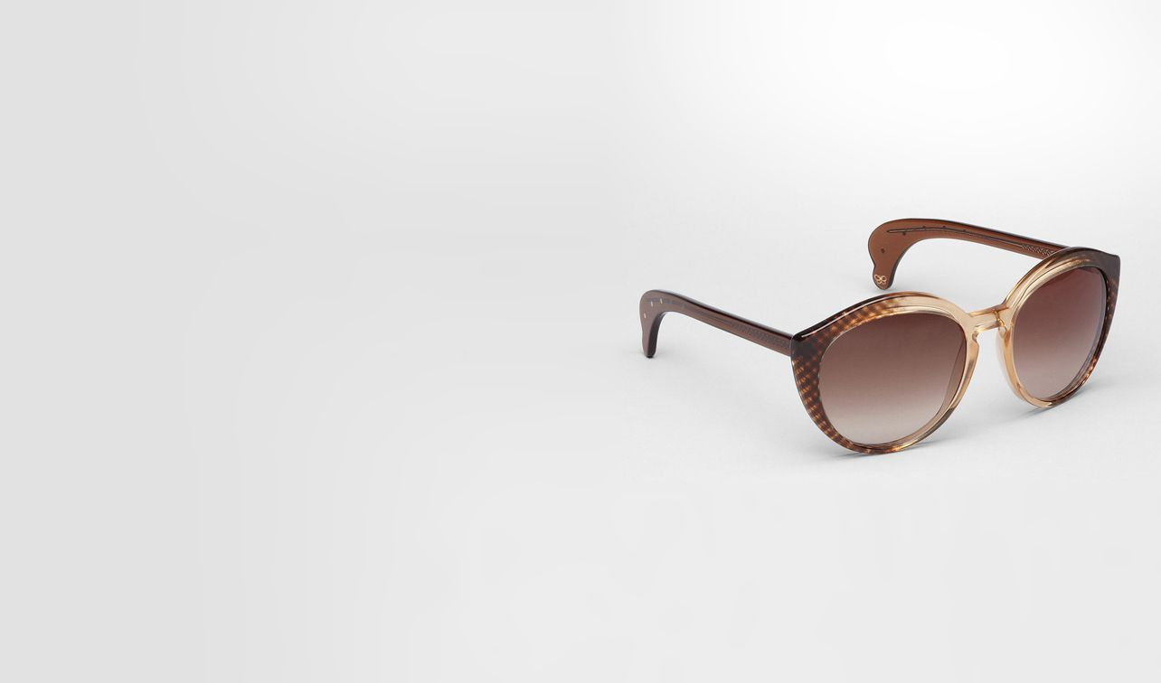 BOTTEGA VENETA Sunglasses D Black Brown Shaded Acetate BV 195/S pl
