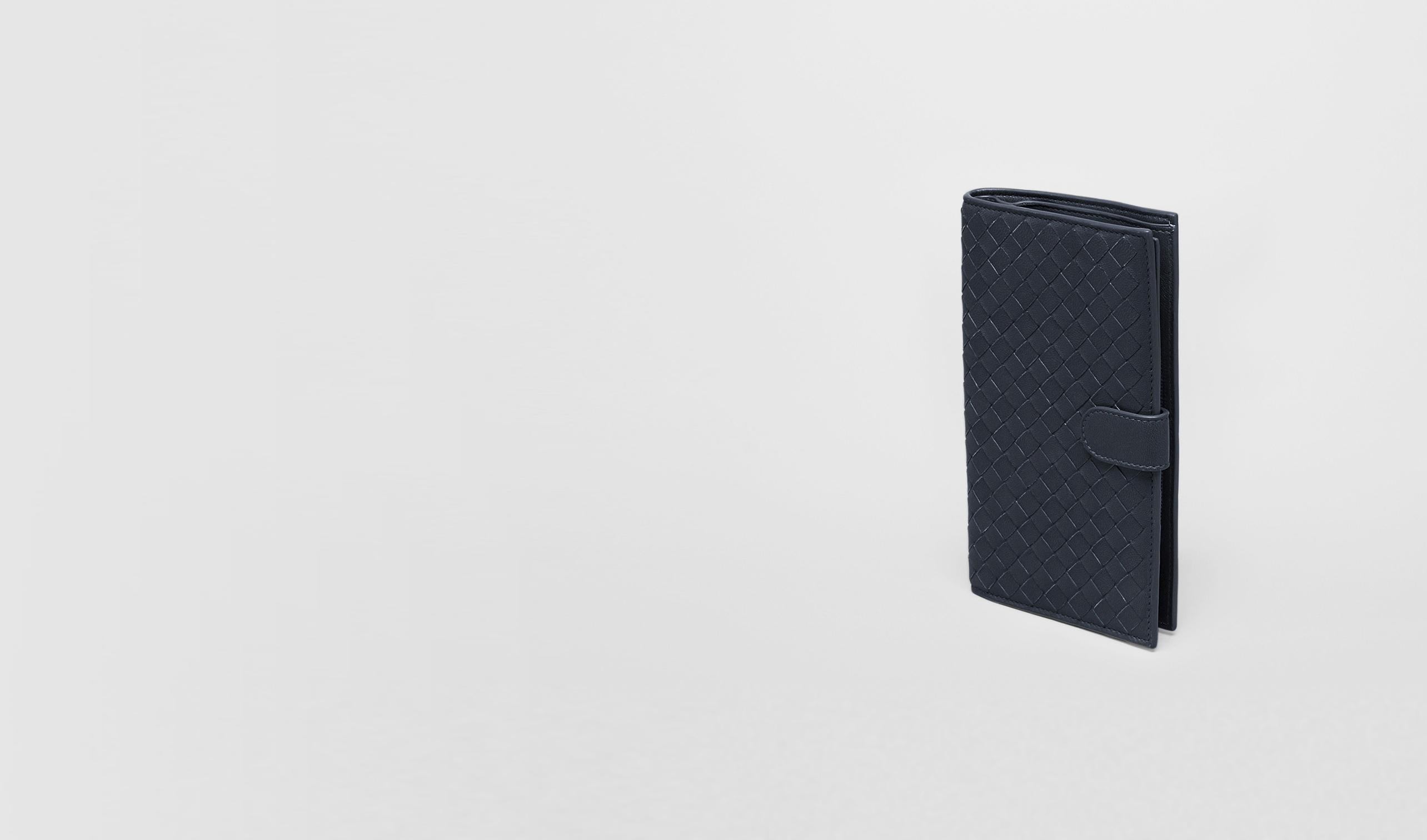 BOTTEGA VENETA Continental Wallet D Tourmaline Intrecciato Nappa Continental Wallet pl