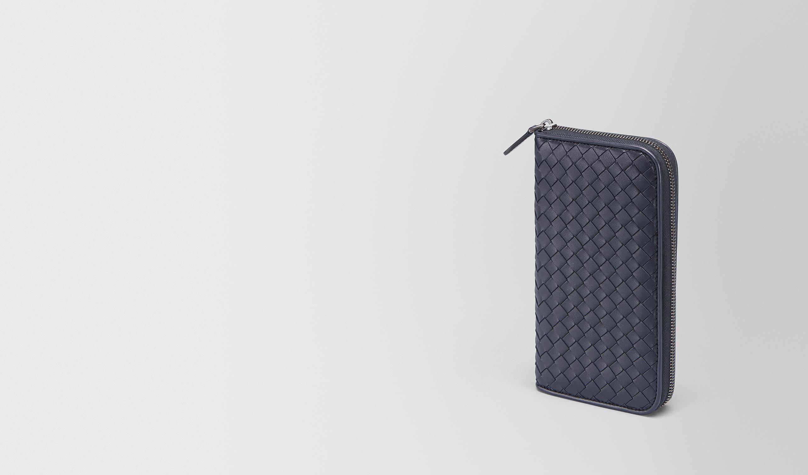 BOTTEGA VENETA Portemonnaie mit Zip D PORTEMONNAIE MIT ZIP AUS INTRECCIATO NAPPA IN TOURMALINE pl