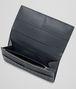 BOTTEGA VENETA Continental Wallet aus VN-Leder Intrecciato Ardoise Continental Portemonnaie U ap