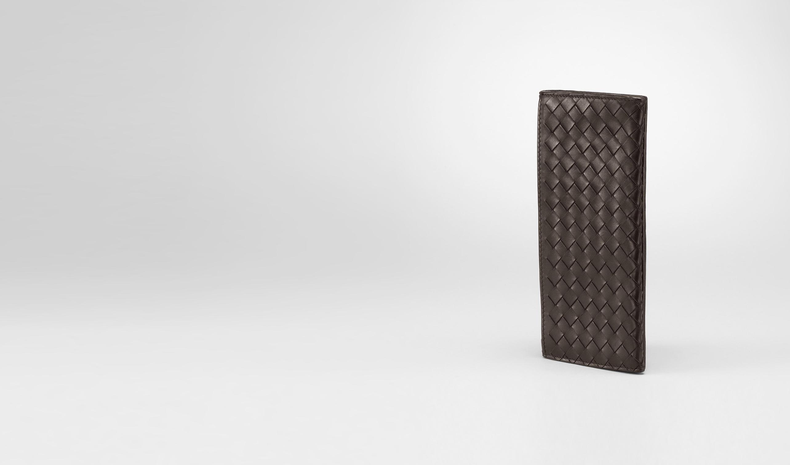 BOTTEGA VENETA Continental Wallet U Ebano Intrecciato VN Continental Wallet pl
