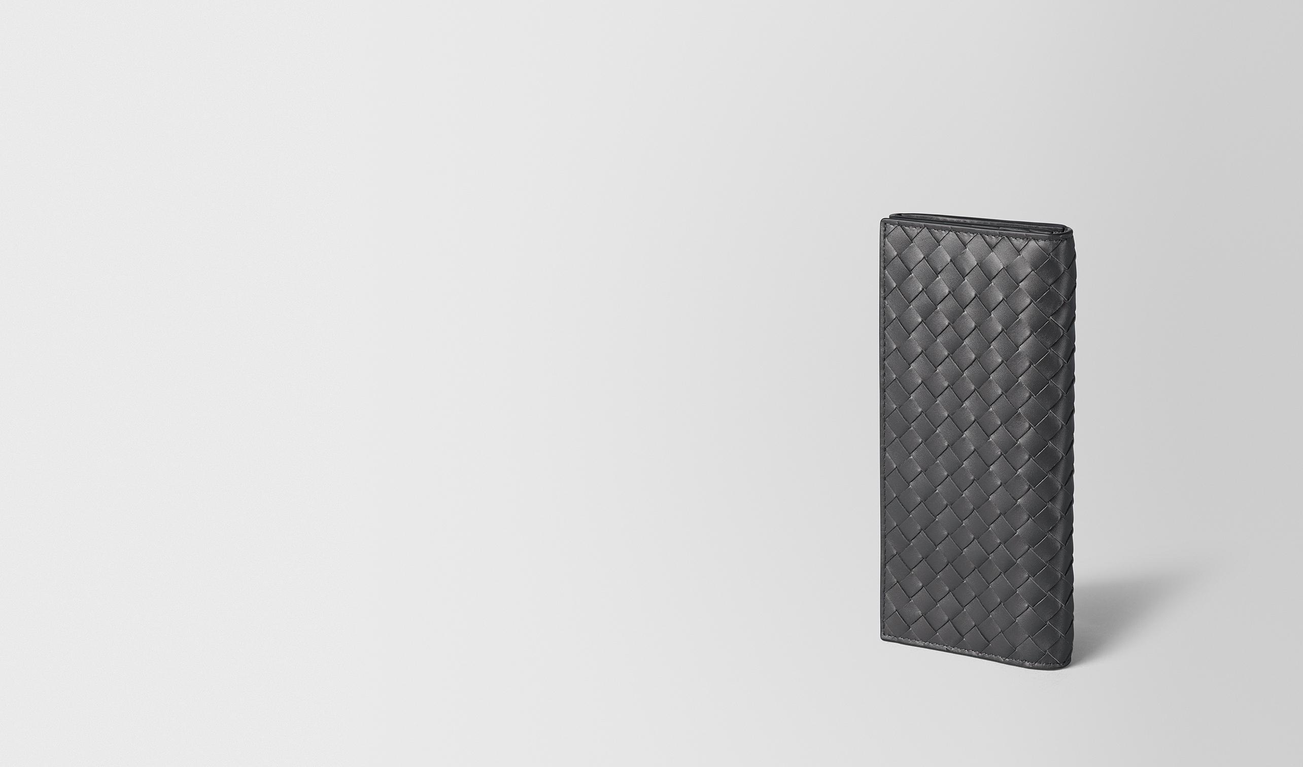 BOTTEGA VENETA Continental Portemonnaie U Continental Wallet aus VN-Leder Intrecciato Ardoise pl