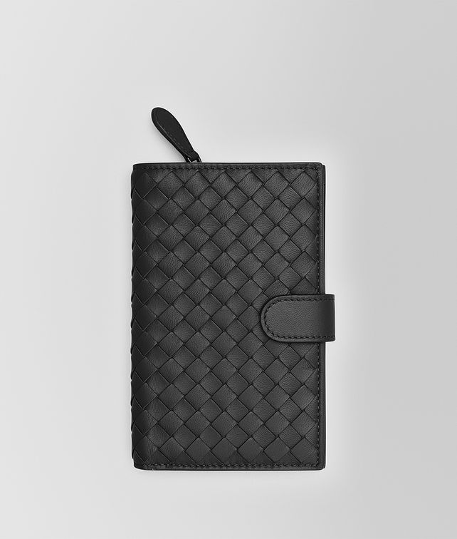 BOTTEGA VENETA NERO INTRECCIATO NAPPA CONTINENTAL WALLET Large Wallet [*** pickupInStoreShipping_info ***] fp
