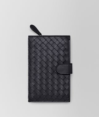 CONTINENTAL WALLET IN TOURMALINE INTRECCIATO NAPPA
