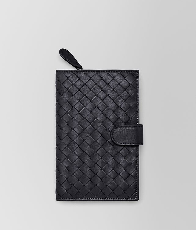 BOTTEGA VENETA CONTINENTAL WALLET IN TOURMALINE INTRECCIATO NAPPA Continental Wallet Woman fp