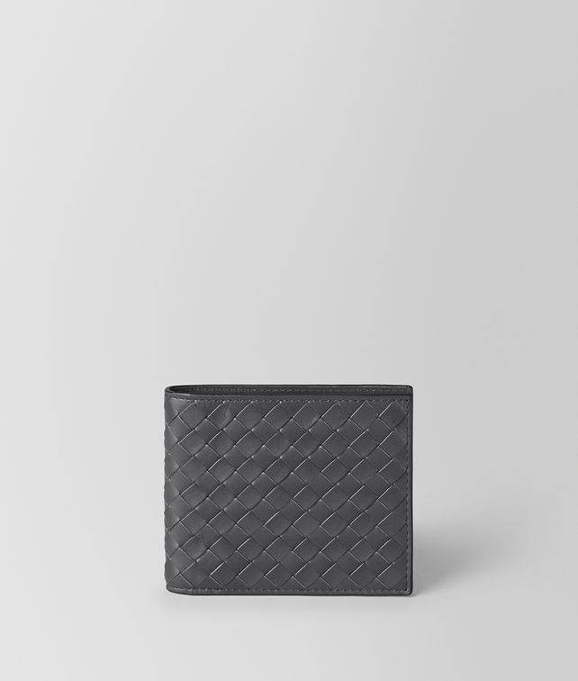 BOTTEGA VENETA Ardoise Intrecciato VN Wallet Bi-fold Wallet U fp