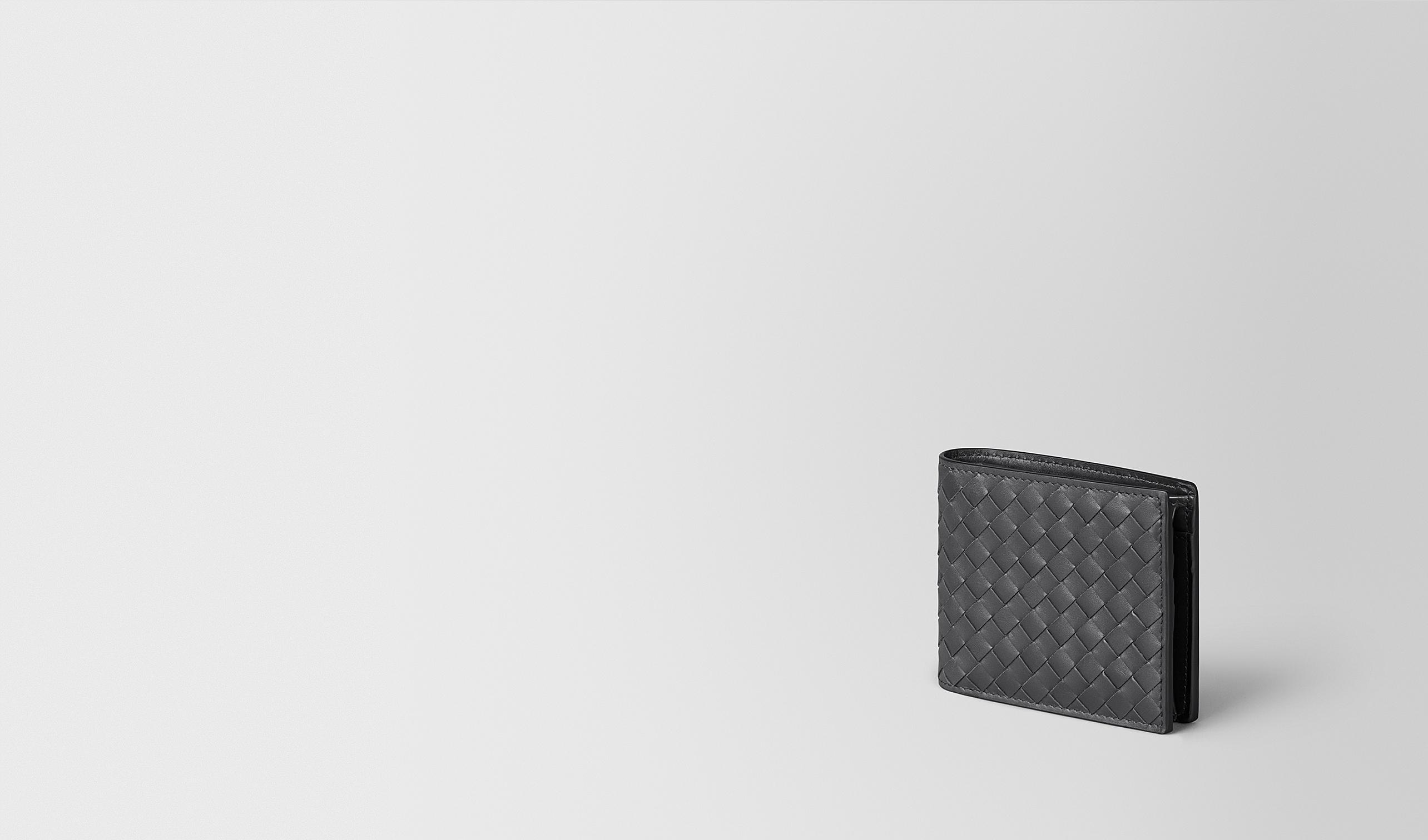 BOTTEGA VENETA Bi-fold Wallet U WALLET IN ARDOISE INTRECCIATO VN pl