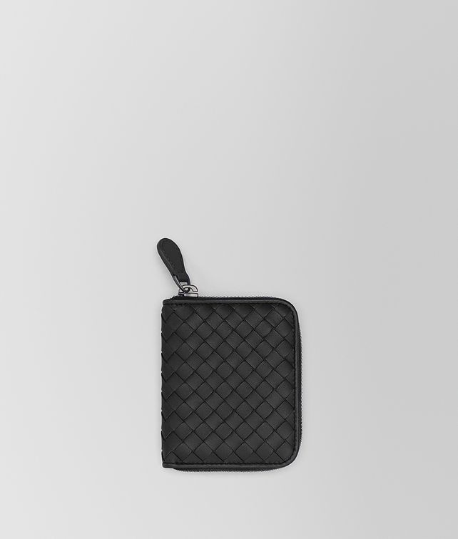 BOTTEGA VENETA COIN PURSE IN NERO INTRECCIATO NAPPA Card Case or Coin Purse [*** pickupInStoreShipping_info ***] fp