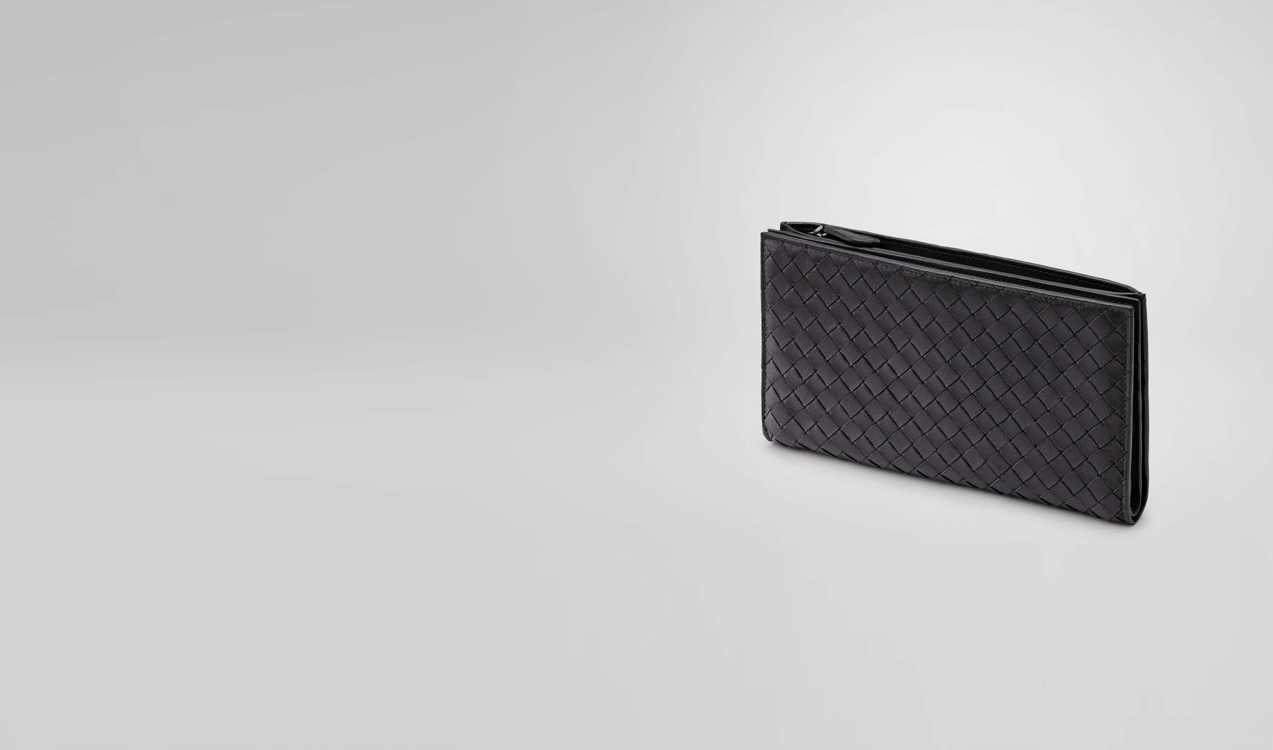 BOTTEGA VENETA Continental Wallet D Nero Intrecciato Nappa Continental Wallet pl