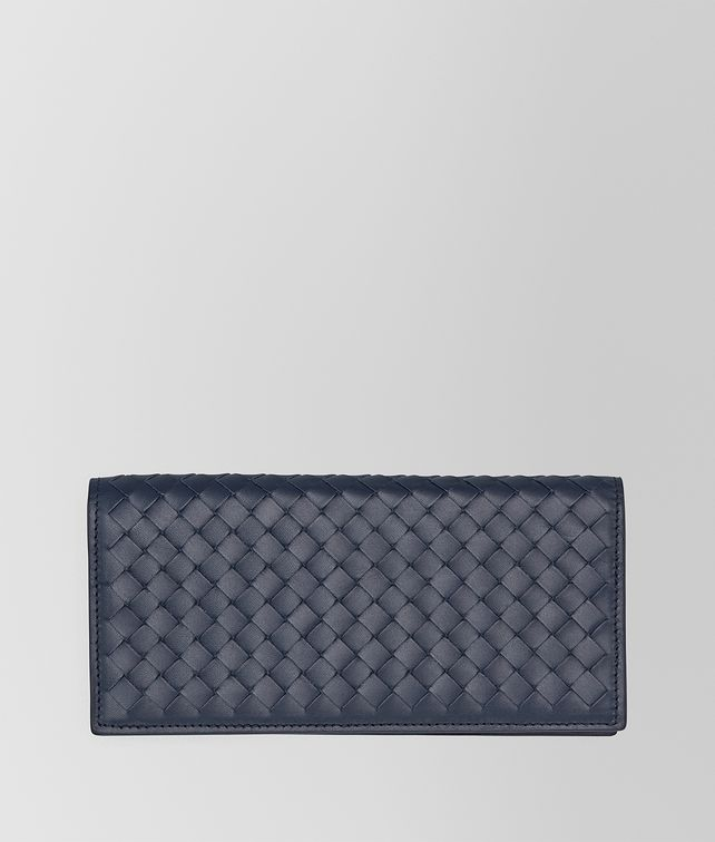 BOTTEGA VENETA CONTINENTAL WALLET IN LIGHT TOURMALINE INTRECCIATO VN Continental Wallet U fp