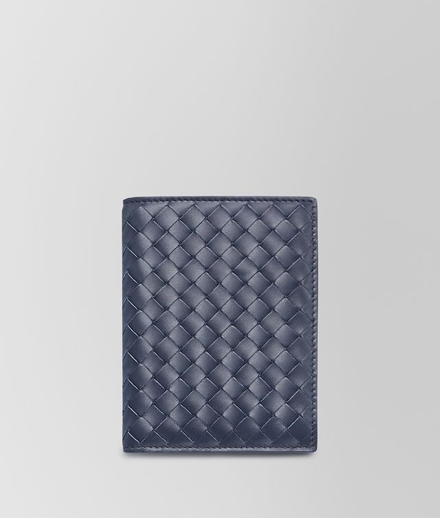 BOTTEGA VENETA BI-FOLD WALLET IN LIGHT TOURMALINE INTRECCIATO VN Bi-fold Wallet U fp