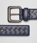 BOTTEGA VENETA LIGHT TOURMALINE INTRECCIATO BELT Belt U rp