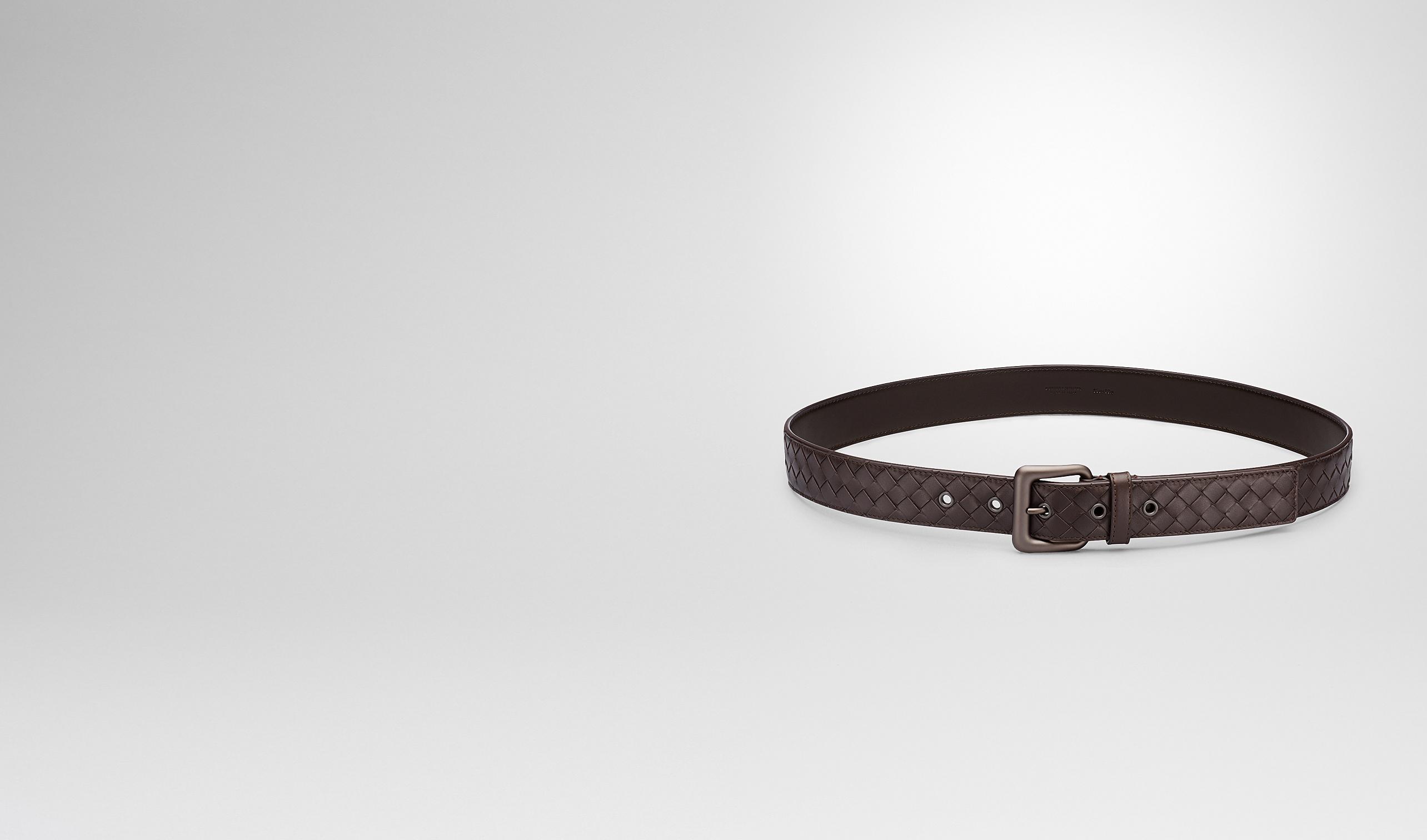 BOTTEGA VENETA Belt U Ebano Intrecciato VN Belt pl