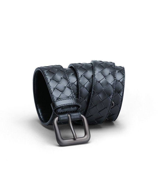BOTTEGA VENETA BELT IN CELESTE INTRECCIATO VN Belt U fp