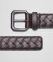 BOTTEGA VENETA Cintura Ebano in VN Intrecciato Cintura U rp