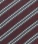 BOTTEGA VENETA Amaranth Dark Grey Silk Tie Tie U ap