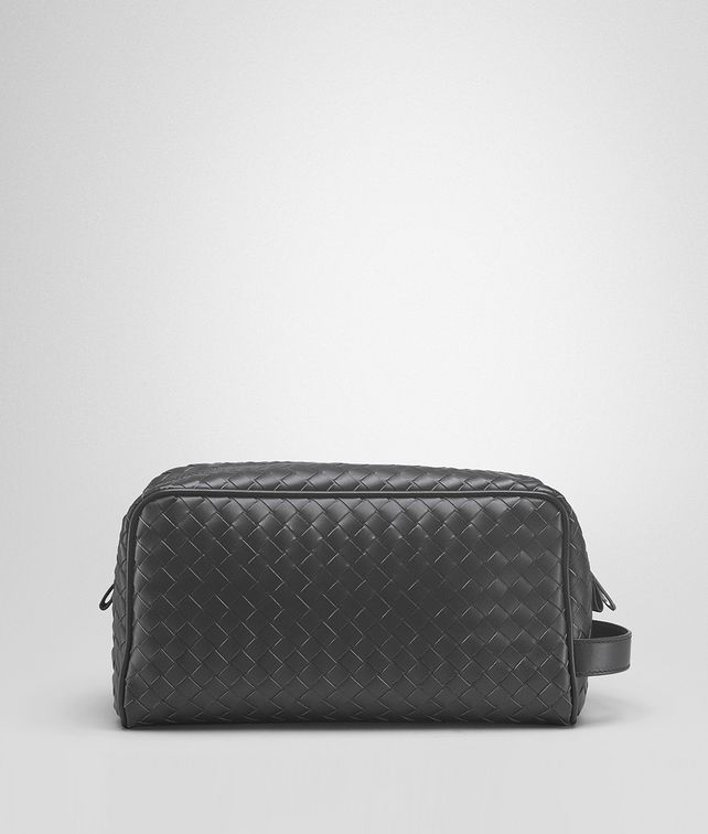 BOTTEGA VENETA Ardoise Intrecciato VN Toiletry Case Small bag U fp