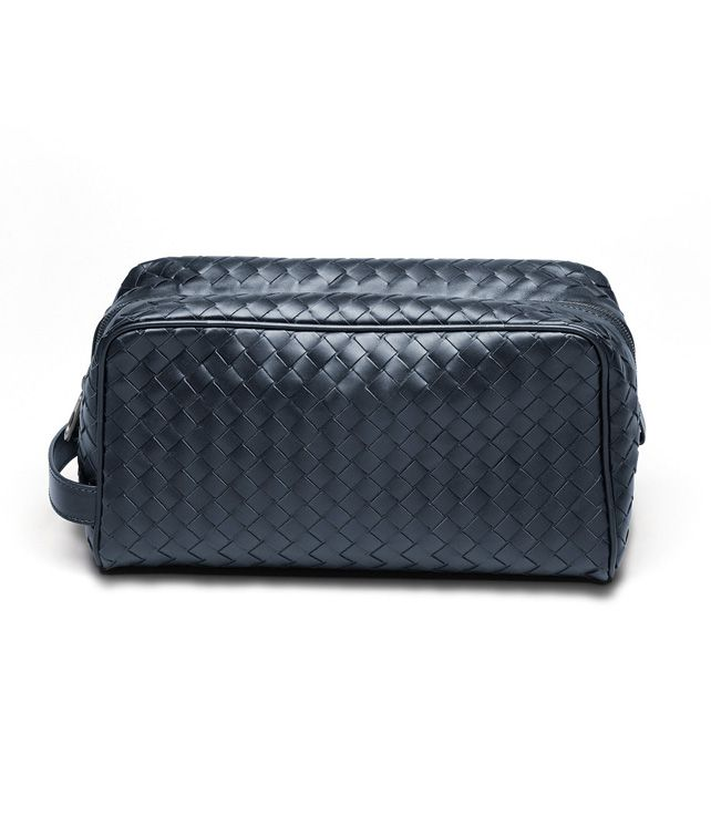 BOTTEGA VENETA Celeste Intrecciato VN Toiletry Case Other Leather Accessory D fp