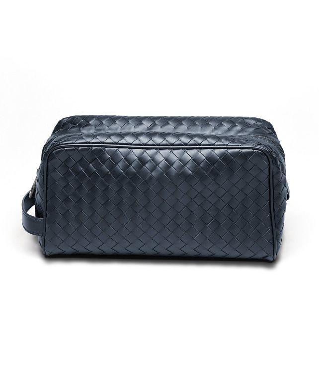 BOTTEGA VENETA Celeste Intrecciato VN Toiletry Case Other Leather Accessory D fp