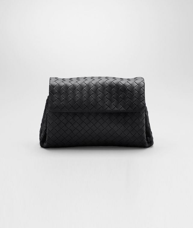 BOTTEGA VENETA Beauty Case Nero in Nappa Intrecciata  Altro accessorio in pelle D fp