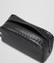 BOTTEGA VENETA TOILETRY CASE IN NERO INTRECCIATO VN Small bag U dp