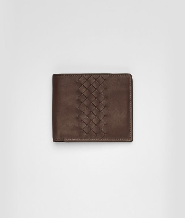 BOTTEGA VENETA Edoardo Intrecciato Light Calf Wallet Bi-fold Wallet U fp