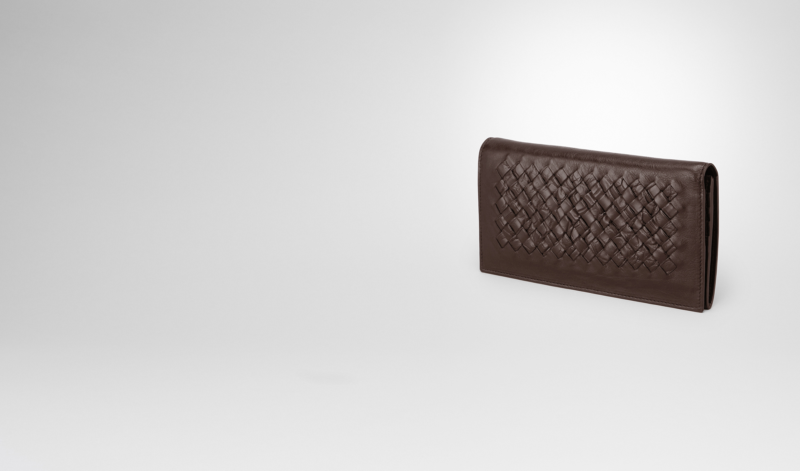 BOTTEGA VENETA Continental Wallet U CONTINENTAL WALLET IN EDOARDO CALF AND CROCODILE, INTRECCIATO DETAILS pl