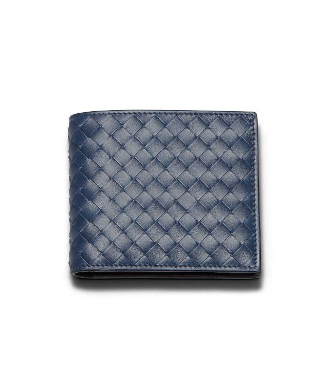 BOTTEGA VENETA WALLET IN CELESTE INTRECCIATO VN Bi-fold Wallet U fp