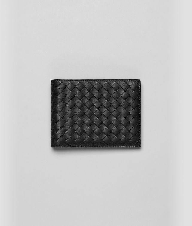 BOTTEGA VENETA Nero Intrecciato VN Wallet Bi-fold Wallet U fp