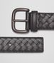 BOTTEGA VENETA BELT IN NERO INTRECCIATO VN Belt U rp