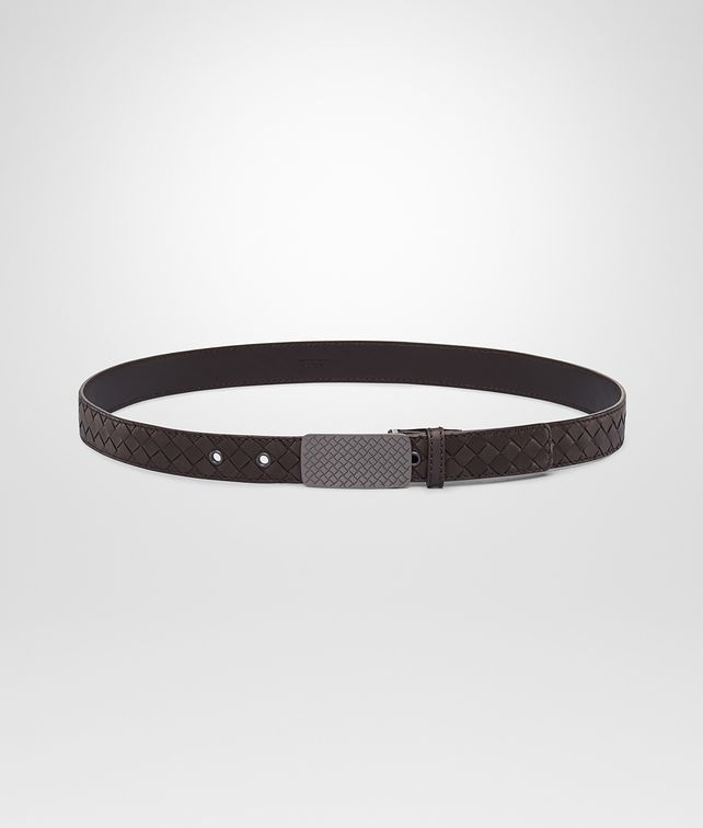 BOTTEGA VENETA Intrecciato Waxed Leather Belt Cintura U fp